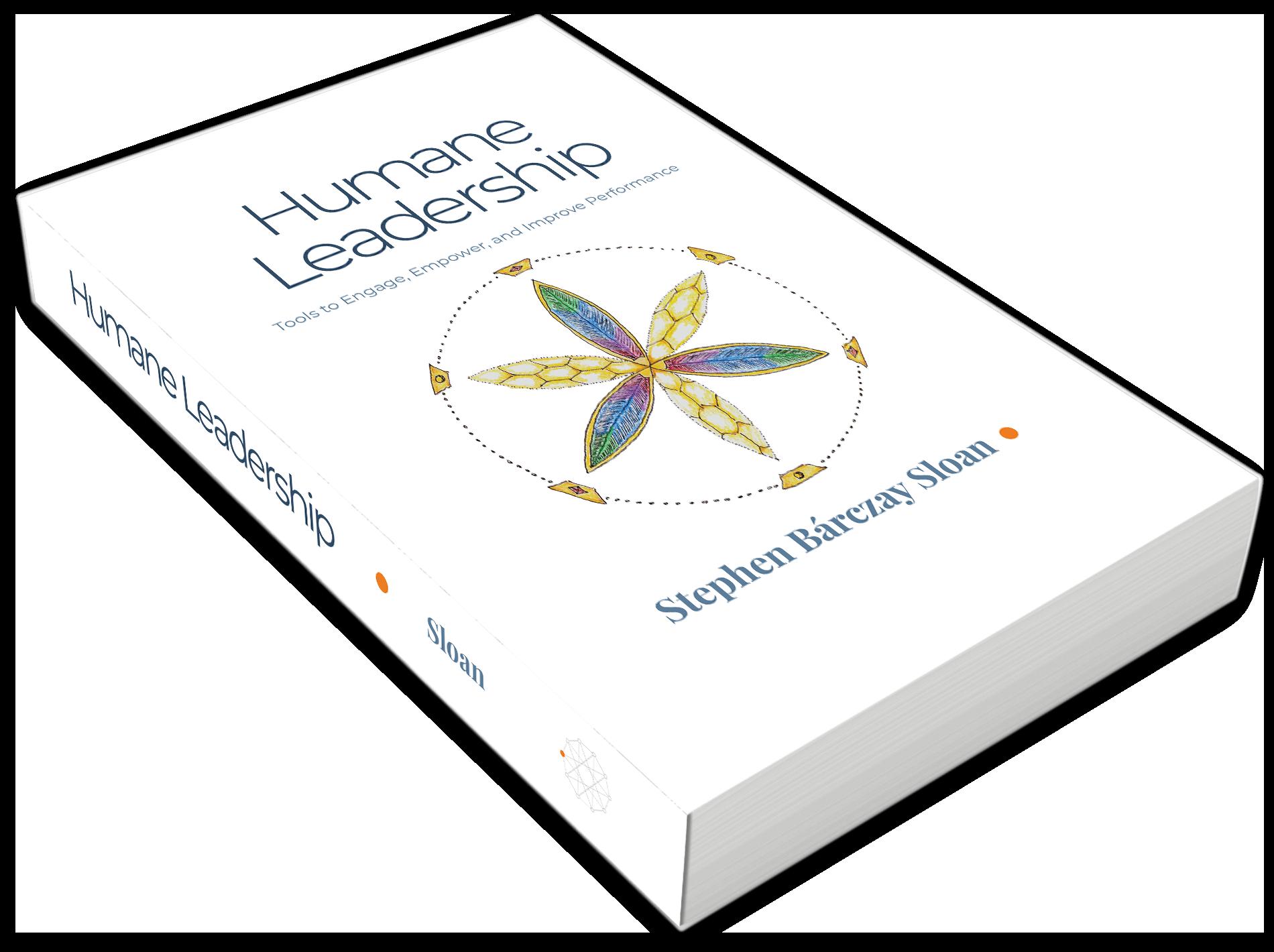 Humane Leadership book 3d flattened